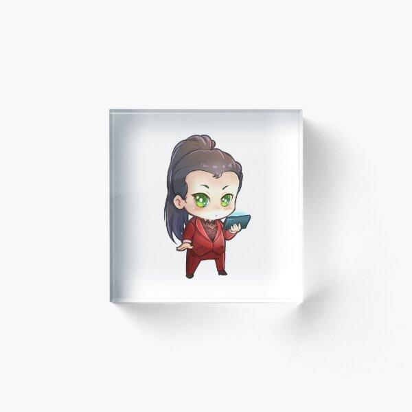 Chibi Lena Acrylic Block