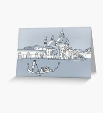 Venice Greeting Card