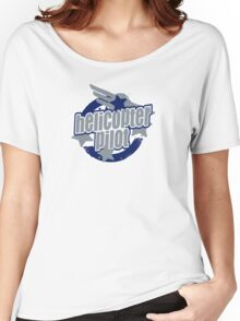 Helicopter pilot Women's Relaxed Fit T-Shirt