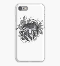 black spider iPhone Case/Skin