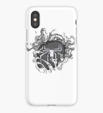 black spider iPhone Case/Skin