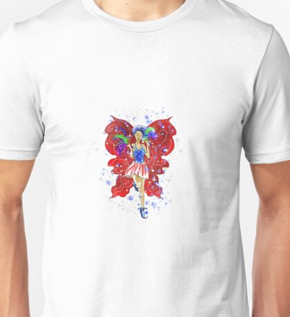 Patriotic Patsy The 4th Of July Fairy T-Shirt