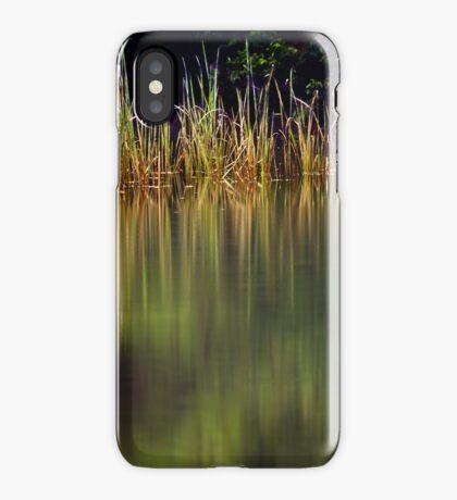 Blue Pool Reflections II iPhone Case/Skin