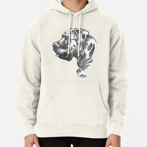 Cane Corso Drawing Pullover Hoodie