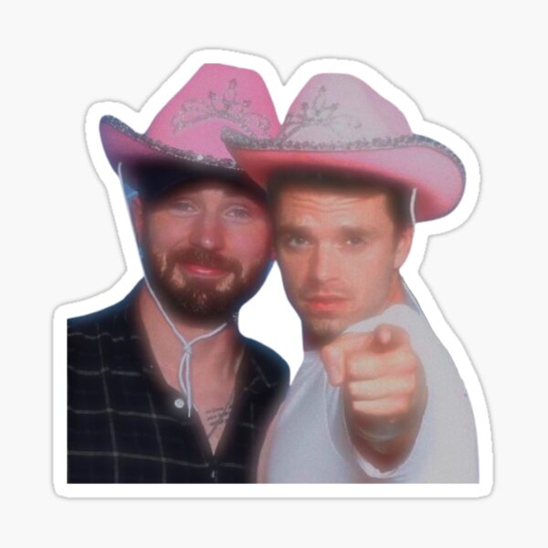 Chris Evans & Sebastian Stan Pegatina