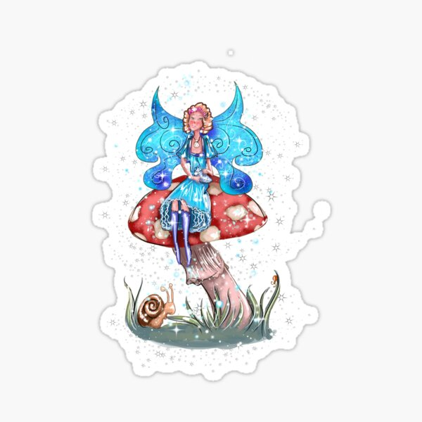 Blossom The Summer-Spring Fairy Sticker