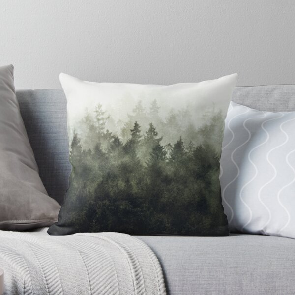 The Heart Of My Heart // Green Mountain Edit Throw Pillow
