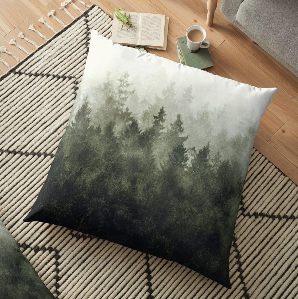 The Heart Of My Heart // Green Mountain Edit Floor Pillow