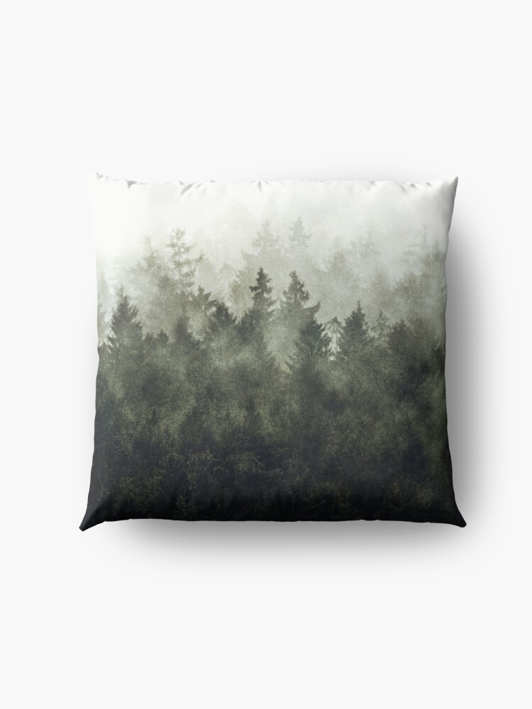 Alternate view of The Heart Of My Heart // Green Mountain Edit Floor Pillow