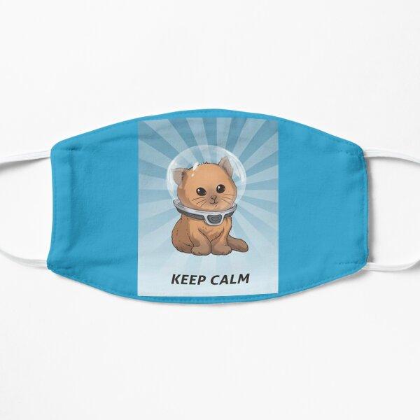 keep calm kitty, keep calm, subnautica, calm, gassik, zzz Flat Mask