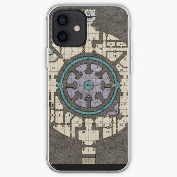 Orb Dungeon Map iPhone Soft Case