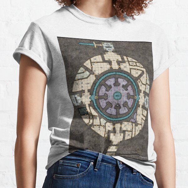 Orb Dungeon Map Classic T-Shirt