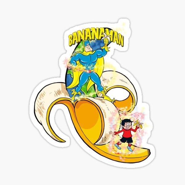 Bananaman Sticker
