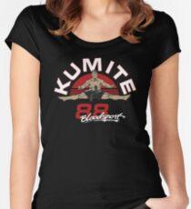 VAN DAMME - BLOODSPORT MOVIE Women's Fitted Scoop T-Shirt