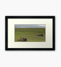 military exercise in Northern Israel   Framed Print