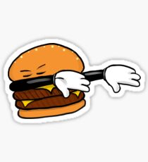 DAB Burger Sticker