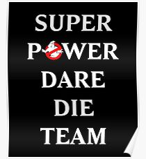 Super Power Dare Die Team! (GBusters China Title) Poster