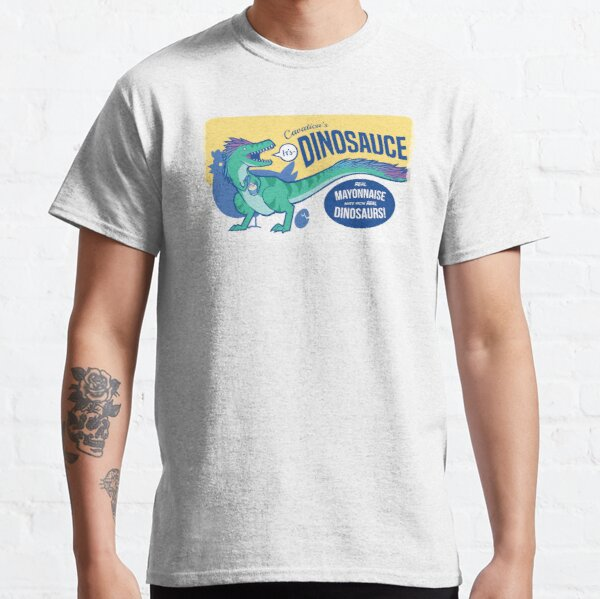 Dinosauce: the Dinotee: THE GREENENING Classic T-Shirt