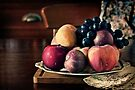 ~ still life with summer fruit ~ by Adriana Glackin