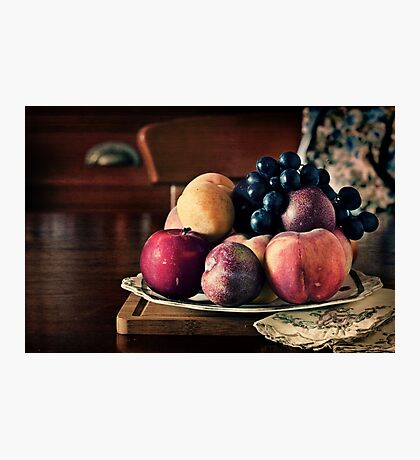 ~ still life with summer fruit ~ Photographic Print