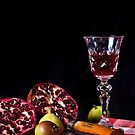 ~ still life with pomegranate ~ by Adriana Glackin