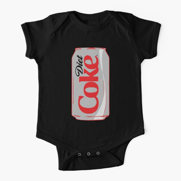 Diet Coke Can Short Sleeve Baby One-Piece