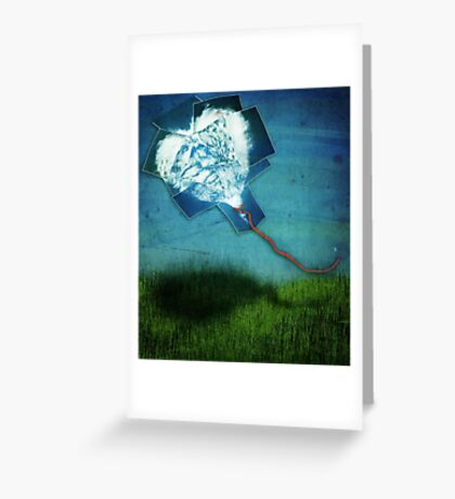 ~ the cloud heart ~ Greeting Card