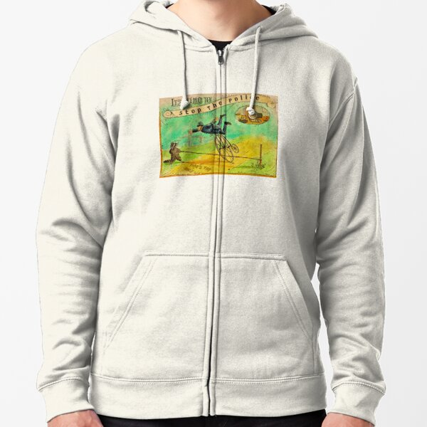 It's Time to Stop the Police - ACAB Zipped Hoodie