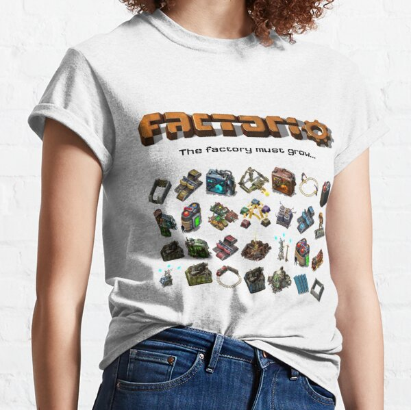 Factorio, The factory must grow... Classic T-Shirt