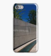 MLK iPhone Case/Skin
