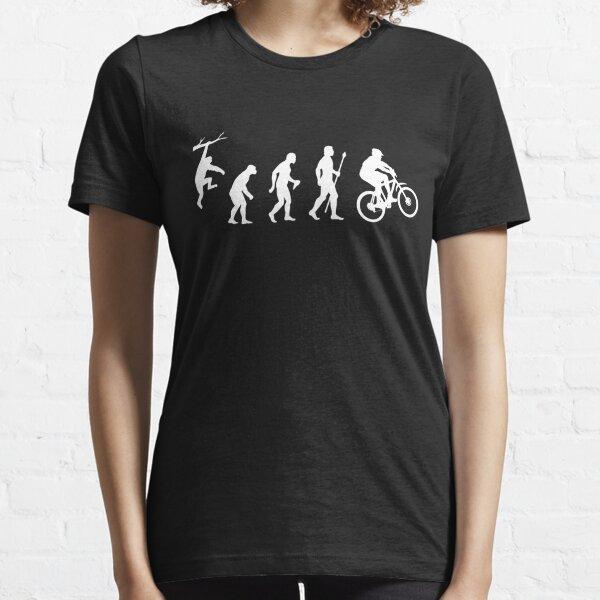 Lustige Mountainbike-Entwicklung Essential T-Shirt