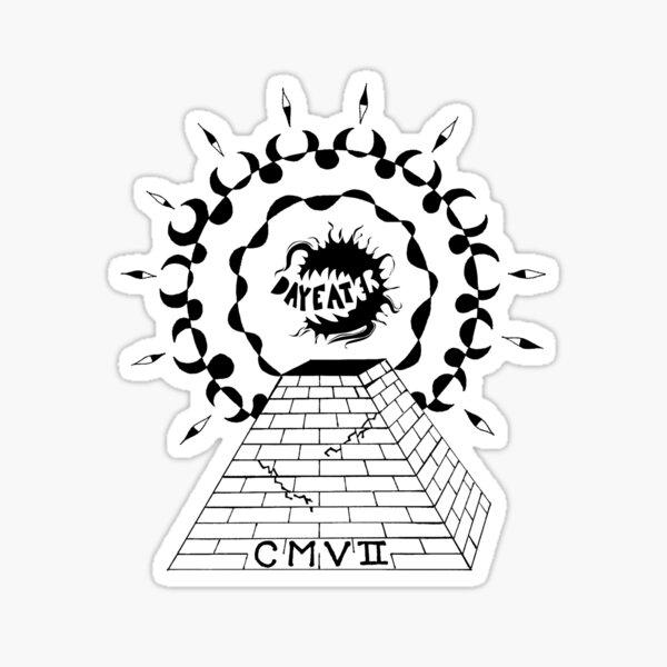 PyramidLogo Sticker