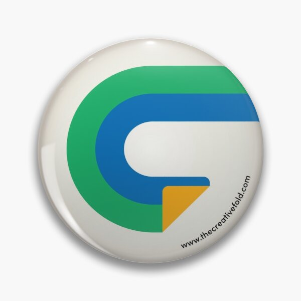 Creative Fold Icon Pin Pin