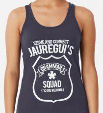 Camiseta de tirantes para mujer Escuadrón Grammar de Jauregui