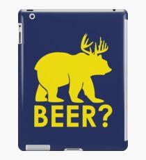 BEER? BEAR? iPad Case/Skin