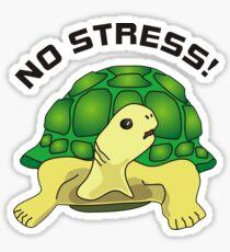 No Stress Sticker