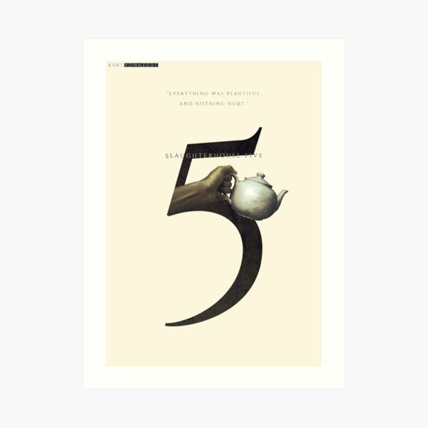 Slaughterhouse Five, Kurt Vonnegut 2 Art Print
