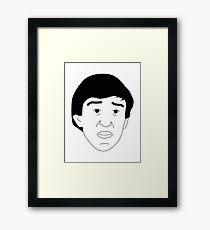 Alan Partridge Framed Print