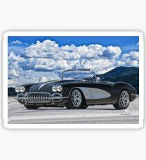 1958 Corvette 'Resto' Roadster Sticker