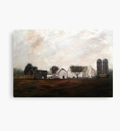 Verdant View Farm and B & B Canvas Print