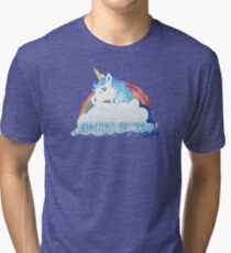 Central Intelligence - Unicorn (Faded as worn in the film) Bob Stone Tri-blend T-Shirt
