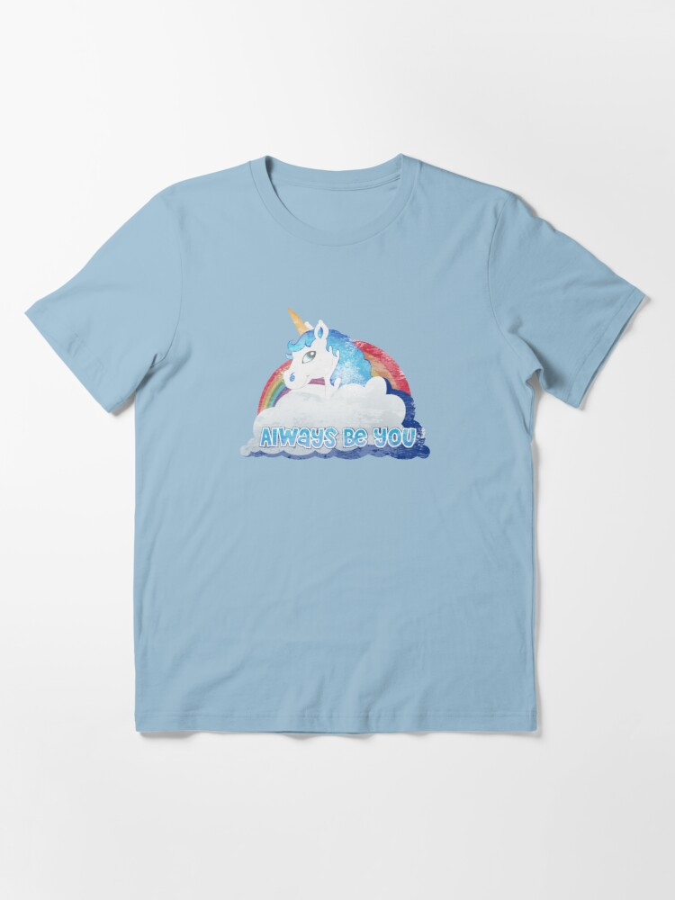 Alternate view of Central Intelligence - Unicorn (Faded as worn in the film) Bob Stone Essential T-Shirt