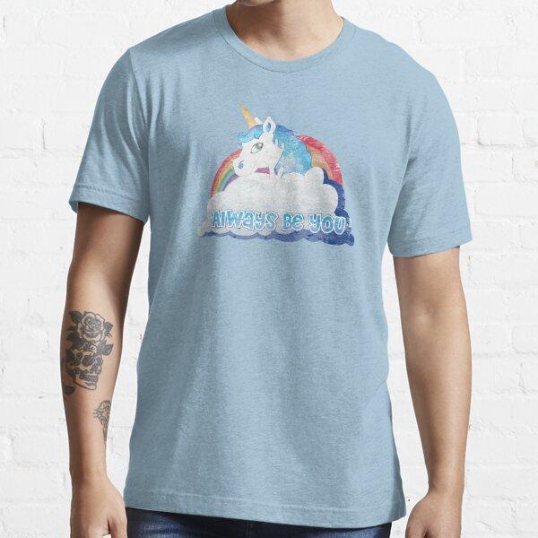 Zentrale Intelligenz - Einhorn (verblasst wie im Film getragen) Bob Stone Essential T-Shirt