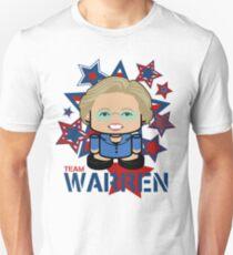 Team Warren Politico'bot Toy Robot Slim Fit T-Shirt