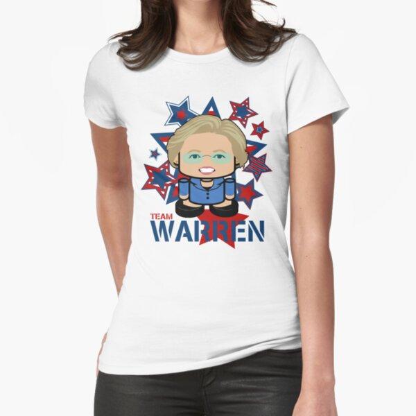 Team Warren Politico'bot Toy Robot Fitted T-Shirt