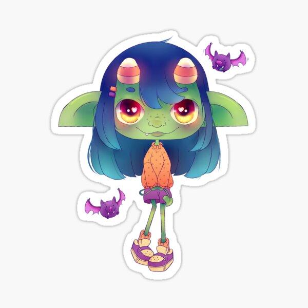 Candy Goblin Sticker