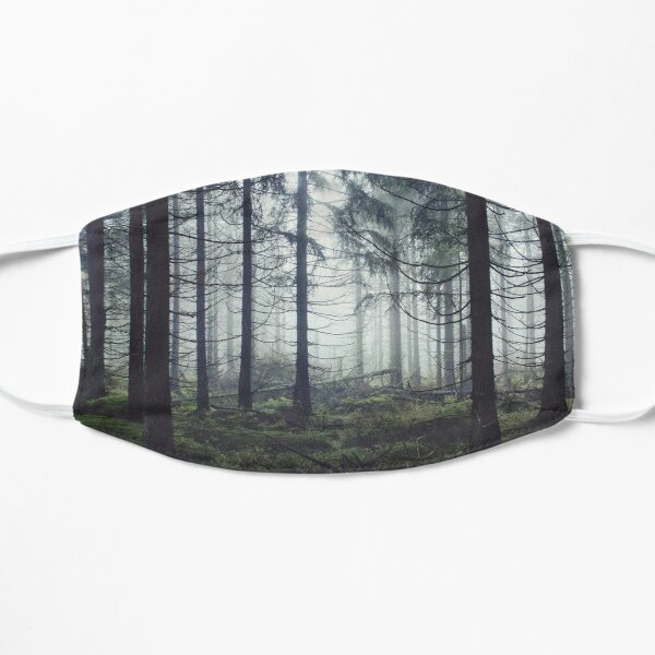 Through The Trees Flat Mask