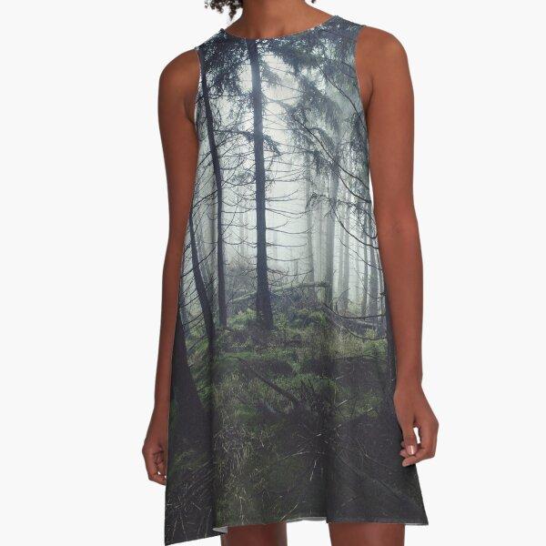 Through The Trees A-Line Dress
