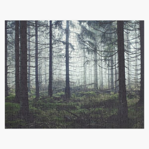 Through The Trees Jigsaw Puzzle
