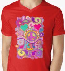 Psychedelic Hippy Retro Peace Art T-Shirt